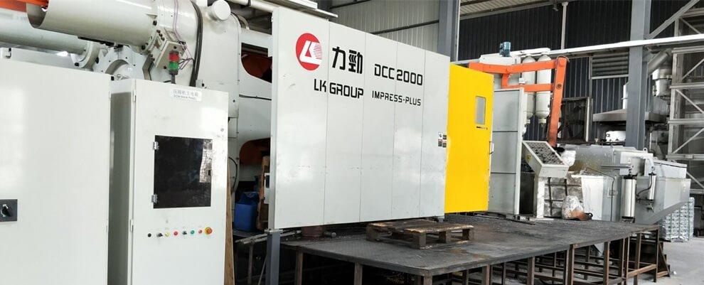 High Pressure Diecasting machine 2000Ton