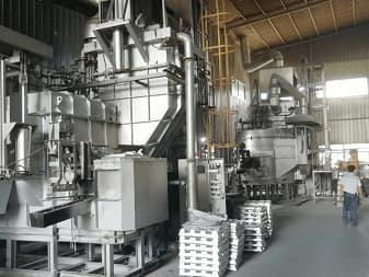 aluminium die casting holding furnace for aluminium ingot